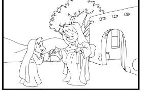 Elizabeth And Mary Clip Art