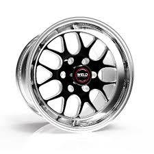 Weld Racing 77LB7110X74A S77 17x110 Rear Wheel Black 2006 09 Trailblazer SS Per