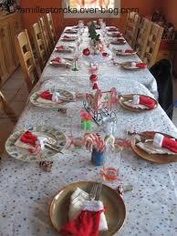 déco de table noël le de la famille storcka