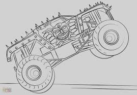 100 Monster Truck Coloring Book DXJZ Awesome