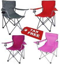 Reclining Camping Chairs Ebay by Portable Chair Ebay