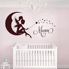 stickers muraux chambre bebe fille 4 stickers chambre bebe