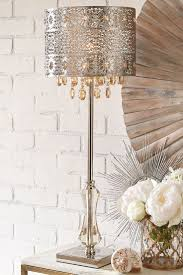 Tahari Home Lamps Crystal by Lamps Crystal Lamps Standing Lamps Crystal Look Table Lamp For