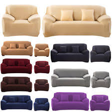 Stretch Slipcovers For Sofa by Stretch Sofa Slipcover Ebay
