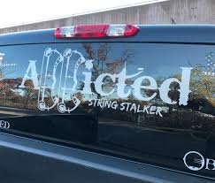 100 Hunting Decals For Trucks 30 Wide Truck String Stalker Bow Addicted Decal