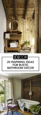 20 Ideas For Rustic Bathroom Decor - Room Ideas 40 Rustic Bathroom Designs Home Decor Ideas Small Rustic Bathroom Ideas Lisaasmithcom Sink Creative Decoration Nice Country Natural For Best View Decorating Archives Digs Hgtv Bathrooms With Remodeling 17 Space Remodel Bfblkways 31 Design And For 2019 Small Bathrooms With 50 Stunning Farmhouse 9
