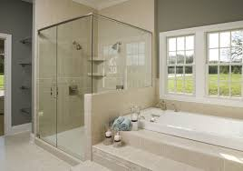 shower awesome shower and tub i love my walk in shower we