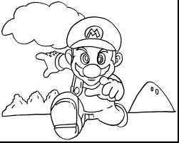 Magnificent Super Printable Coloring Pages Bros Mario And Yoshi Kart 8 7 To Print Full