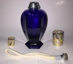 Lampe Berger Easy Scent Instructions by Lampe Berger Catalytic Fragrance Lamp Six Sided Cobalt Blue See