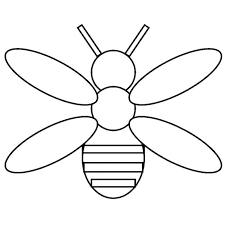 Baby Bees House Bee Templates Anatomy Coloring Page Queen Pages Movie To Print