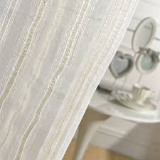 gold vertical stripes tulle curtains for living room window