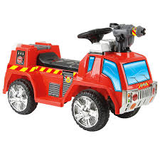 Toyrific 6v Battery Powered Electric Fire Engine Ride On Car Truck ... Fire Truck Electric Toy Car Yellow Kids Ride On Cars In 22 On Trucks For Your Little Hero Notes Traditional Wooden Fire Engine Ride Truck Children And Toddlers Eurotrike Tandem Trike Sales Schylling Metal Speedster Rideon Welcome To Characteronlinecouk Fireman Sam Toys Vehicle Pedal Classic Style Outdoor Firetruck Engine Steel St Albans Hertfordshire Gumtree Thomas Playtime Driving Power Wheel Truck Toys With Dodge Ram 3500 Detachable Water Gun