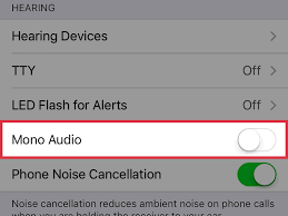 How to Turn f Mono Audio on an iPhone 4 Steps with