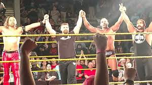 Curtain Call Video Wwe by A Very Good Curtain Call Happened At Nxt U0027s South Carolina House