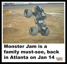 Monster Jam Is A Family Must-see, Back In Atlanta On Jan 14