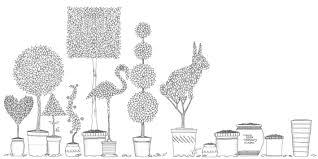 Pin Drawn Book Garden 3