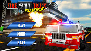 100 Fire Truck Game Amazoncom 911 Rescue Driver Emergency Madness 3D