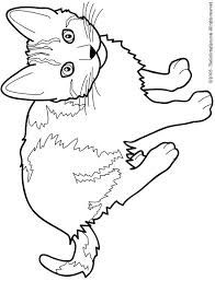 Coloring Pages Of Cats Printable Cat Color Free For Kids