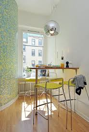 Small Kitchen Table Centerpiece Ideas by Modern Kitchen Design For Small Apartment With White Wooden
