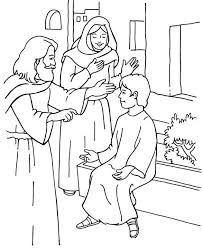 Bible Coloring Pages Moses Manna