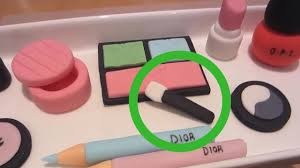 cake decorations 5 ways to make edible makeup cake decorations wikihow