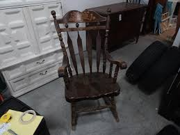 Antique Hand Painted Rocking Chair | Dugan, INC