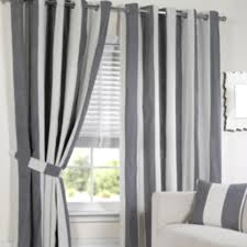 Navy And White Striped Curtains Uk by Eyelet Curtains The Range