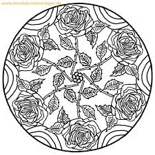 Loves Madness Mandala To Color Color By Number For Adults And