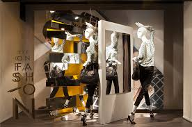 De Bijenkorf Eye On Fashion Window Display By StudioXAG