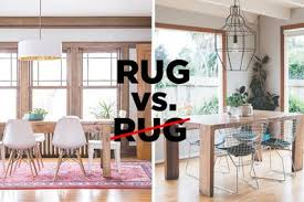 Lets Settle This Do Rugs Belong In The Dining Room