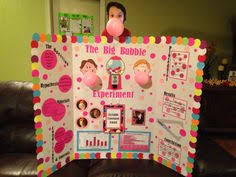 Fifth Grade Science Fair Project Which Brand Of Gum Blows The Biggest Bubble