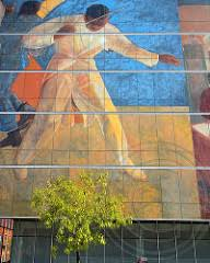 Harlem Hospital Mural Pavilion by 11 Harlem Hospital Glass Mural Signature Collection 100