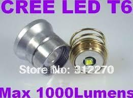 free shipping cree xm l t6 led 5 mode op bulb xml t6 led bulb of