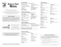 Panera Pumpkin Bagel Points Plus by Panera Bread Printable Menumenu World Menu World