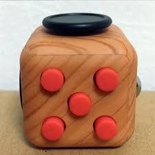 Fidget Cube Adults Stress Relief Cubes Black White Leopard