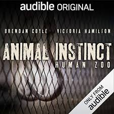 Animal Instinct Human Zoo Audiobook Cover Art