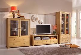 home affaire wohnwand gotland set 3 tlg bestehend aus 1 highboard 1 tv lowboard und 1 vitrine
