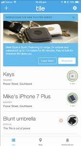 track any of your items with the upgraded tile pro tile pro review