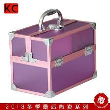 Korea portable small transparent beauty case makeup vanity case