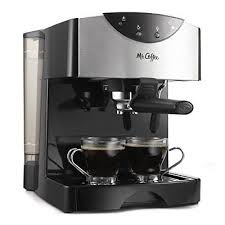 New Mr Coffee Steam Espresso Machine Hot Cappuccino Latte Froth Maker Cafe
