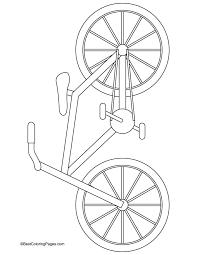 Street Bike Coloring Page