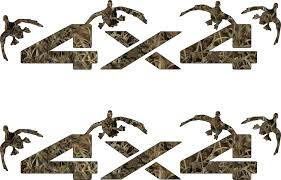 100 Duck Decals For Trucks 4 X4 Truck Truck 4x4 Offroad Camo Grassland S Decal