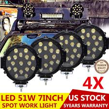4X LED Car Truck Boat Round Work Roof Bumper Rack Spot Lights 12V ... Trucklite Spot Lights Harley Davidson Forums Great Whites Led For Trucks 4wds Cars Mark 2 Ii Escort Rally Car Covered In Spotlights Stock Photo Buy Rigidhorse Pcs 5 Inch 48w 3 Row Spot Lights Pods Led Bulbs Trucks Impressionnant 24v Blue Halogen Car Ford Ranger Ingrated High Performance Spotlights Youtube North American Intertional Auto Show Awardwning Vehicles Custom Offsets Tv How Tos Installs And More Best Amazoncom Lightselectrical Parts Accsories Fasttrackautopartscom This Badass Truck Came Our Fleet Department Rear Facing Led