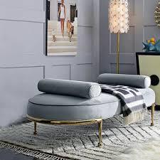hocker polsterhocker fuß ablage möbel wohnen sitzbänke sitz leder grau design