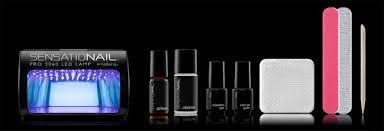 goose s glitter sensationail starter kit review