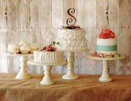 One Rustic Pedestal Cake Stand By RoxyHeartVintage On Etsy