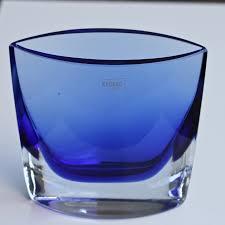 100 Poland Glass Vintage KROSNO Art Glass Vase
