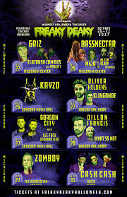Halloween In Chicago 2017 From by Freaky Deaky 2017 Midwest Halloween Takeover