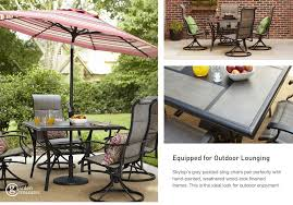 Garden Treasures Patio Furniture Manufacturer by Shop The Skytop Patio Collection On Lowes Com