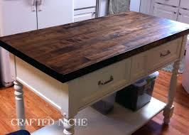 Used Dining Room Table Butcher Block And Chairs Farmhouse Style